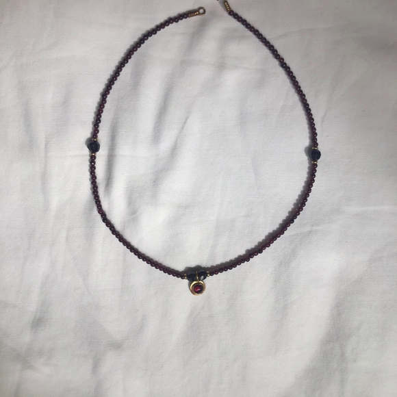 Jewelry - Gold & Amethyst Necklace